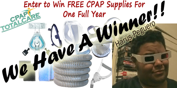 WE Have a Winner at CPAP TotalCare