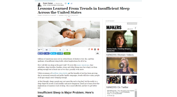 methods to improve sleep