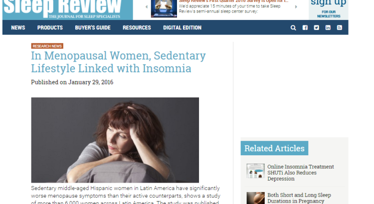 women's sleep health