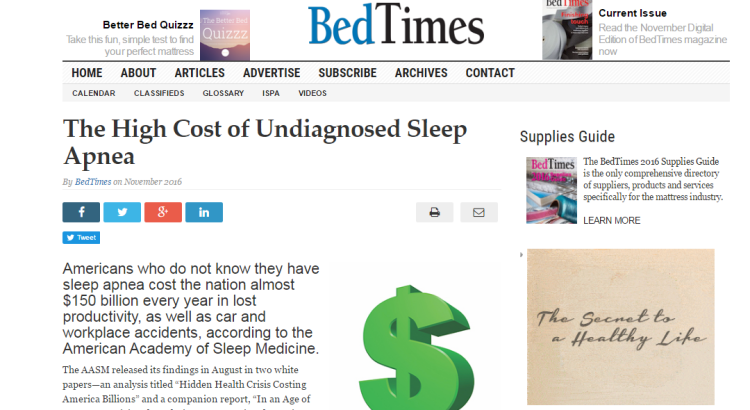 The economic cost of undiagnosed sleep apnea in the u s for Motor vehicle crashes cost american