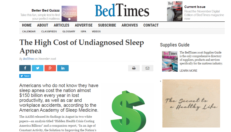 Sleep apnea cost archives totalcare ehealth for Motor vehicle crashes cost american